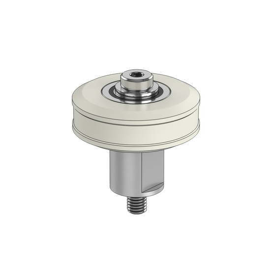 Large Acetal Roller Wheel with Eccentric Bushing
