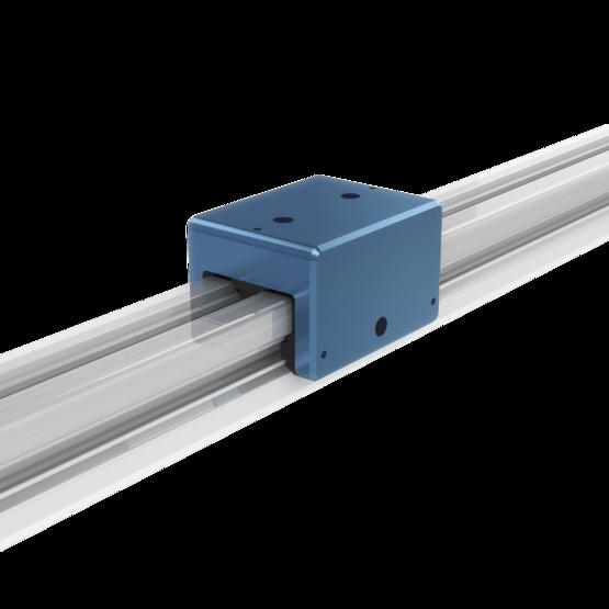 45-mm aluminum profile slider