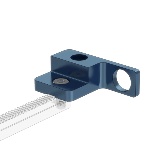 Rack and Pinion End Stop