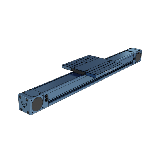 Heavy Duty Enclosed Timing Belt Actuator, 855mm Length