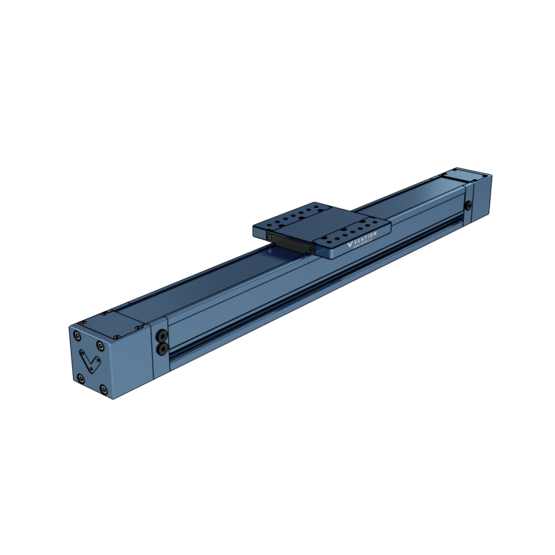 Enclosed Linear Profile Guide, 1530mm Long