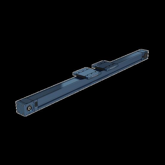 Dual Gantry Enclosed Timing Belt Actuator, 3330mm Length