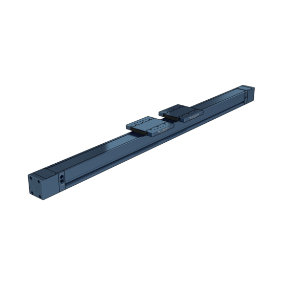 Dual Gantry Enclosed Linear Profile Guide, 1530mm Length