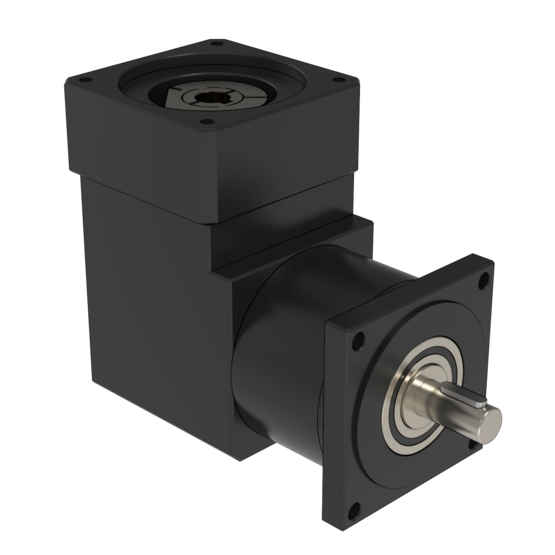 5:1 Right Angle Reduction Gearbox