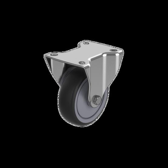 Premium Fixed Caster Wheel, 200kg Capacity