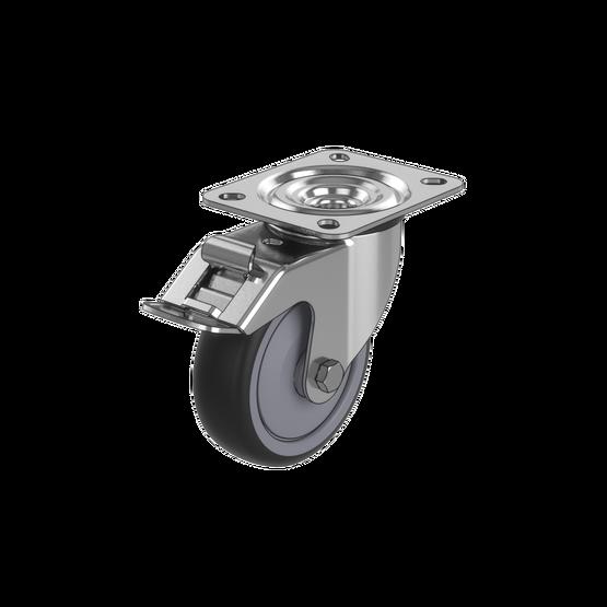 Premium Swivel Caster Wheel with Brake, 150kg Capacity