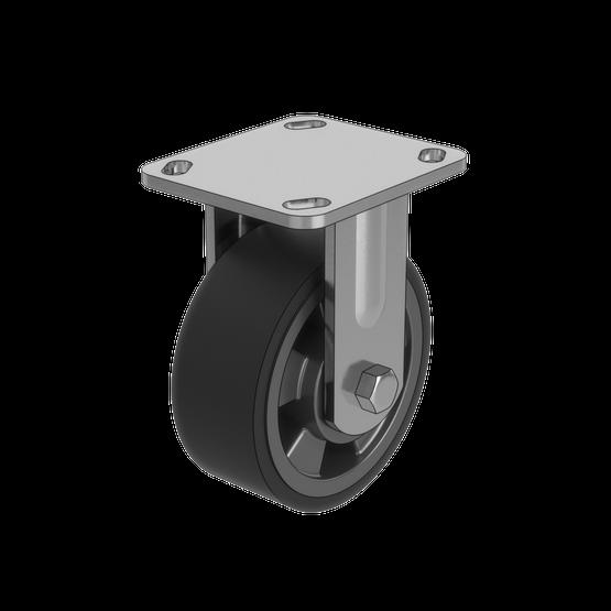 Fixed Caster Wheel, 260kg Capacity