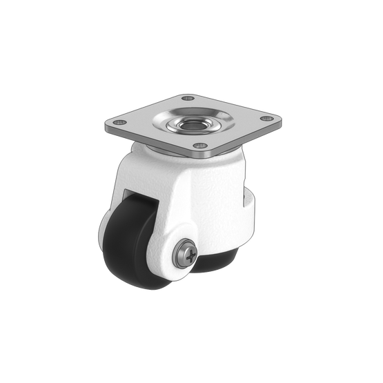 premium swivel leveling caster wheel with adjustment wheel vention