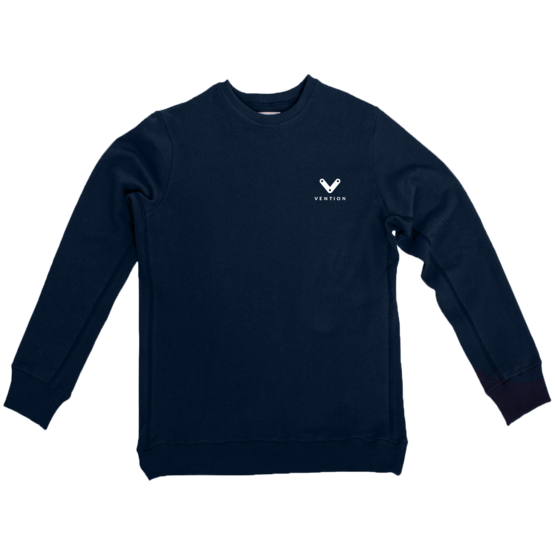 Crew neck, Vention blue, X-Large