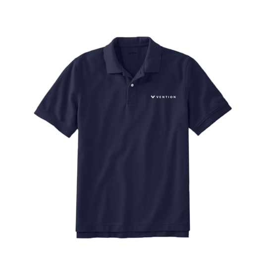 Polo, Vention Blue, Large