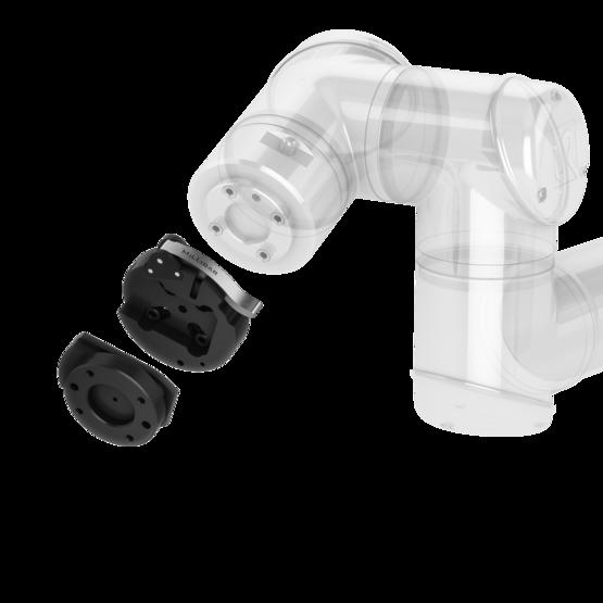 Quick-Change Manual Tool Changer (Tool & Robot Sides)