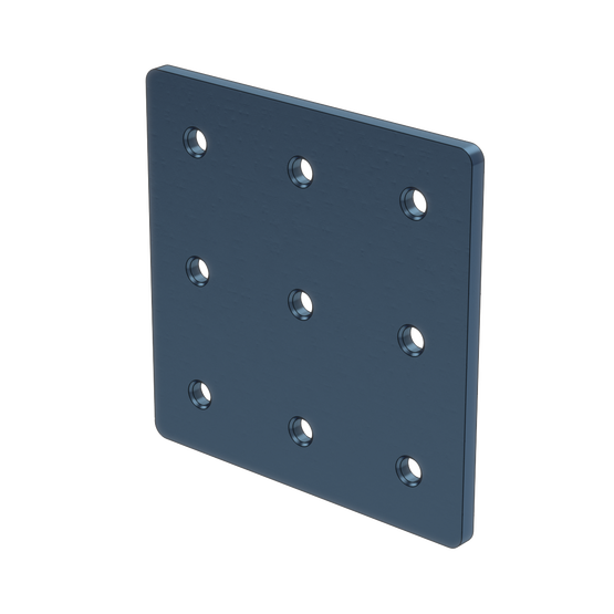 3x3 Hole Aluminum Assembly Plate