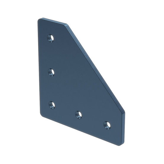 90 Degree Joint Aluminum Assembly Plate, for 45x45mm Extrusions