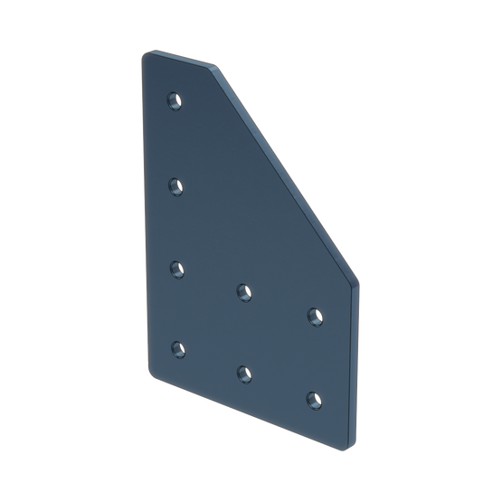 90 Deg Joint Assembly Plate, for 45 x 45mm to 45 x 90mm Extrusions