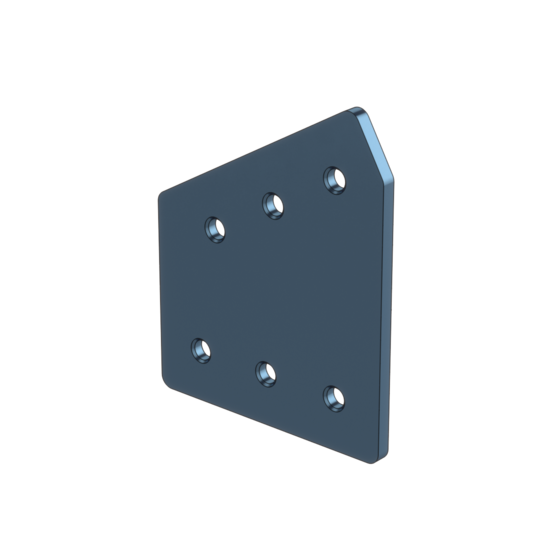 30 Degree Joint Aluminum Assembly Plate