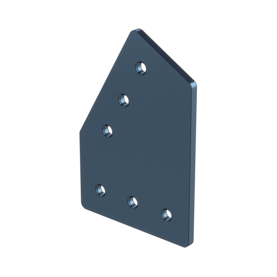 60 Degree Joint Aluminum Assembly Plate