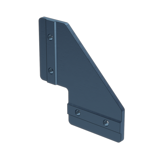 90 Degree Joint Aluminum Assembly Plate, with Locators