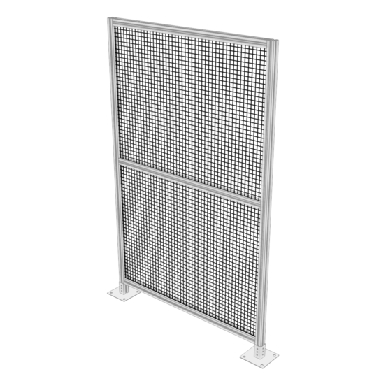 Thermoplastic Wire Mesh Panel, 905 x 1197mm, 25mm Grid