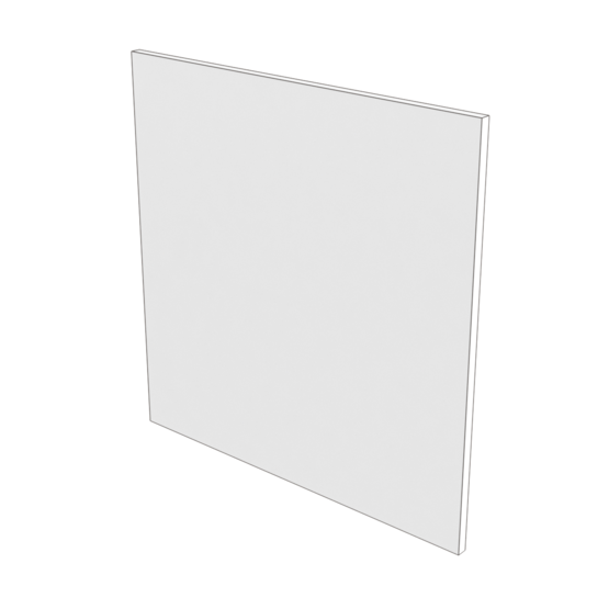 Acrylic Panel, White 1/4'' [6.35mm]