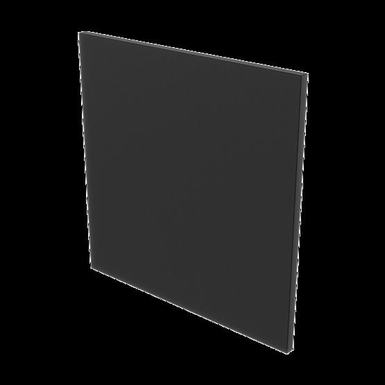 Poly-Eco HDPE Panel, Black 3/8'' [9.5mm]