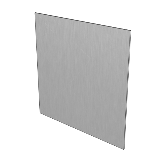 5052-H32 Brushed Aluminum Plate, 5/16'' [7.94mm]