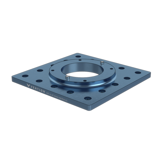 225x225mm UR5 Mounting plate, for Universal Robots