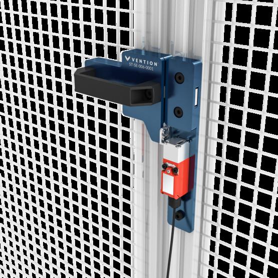 Right Gate Bolt with Interlock