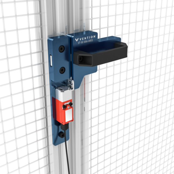Left Gate Bolt with Interlock