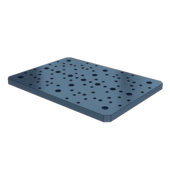 235x325mm Aluminum Tooling Plate