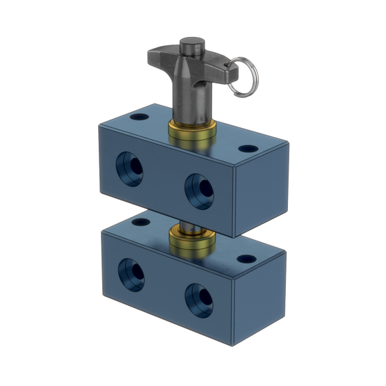 Locating Fixture with Quick Release Pin