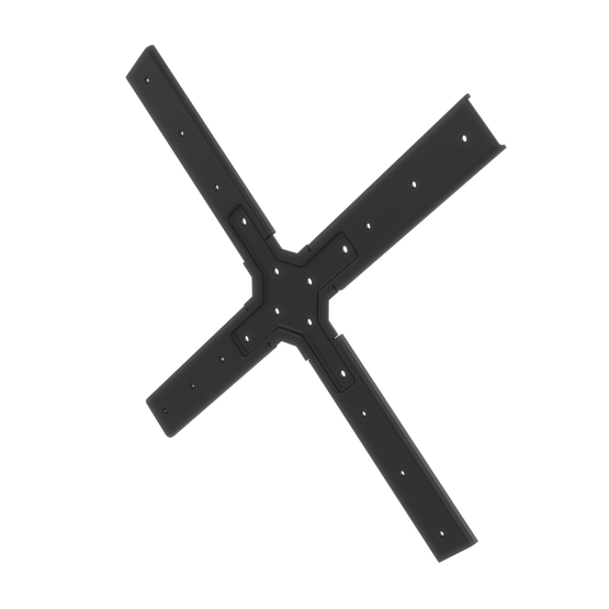 Display Mounting Plate, 200mm to 400mm VESA