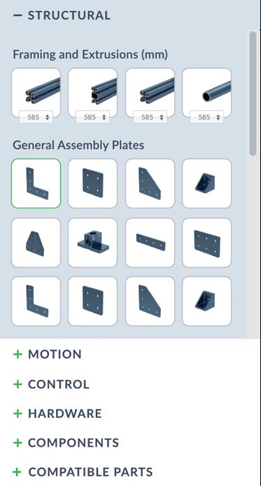 MachineBuilder - Free Cloud CAD Design Platform | Vention
