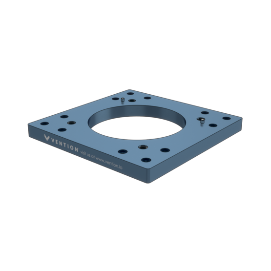 Industrial Robotic Arms Mounting Plate 270mm for Yaskawa GP7-8