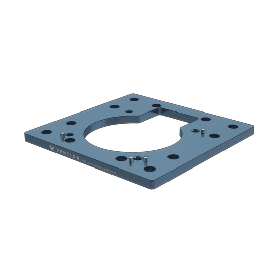 Industrial Robotic Arm Mounting Plate for Fanuc SR-3iA