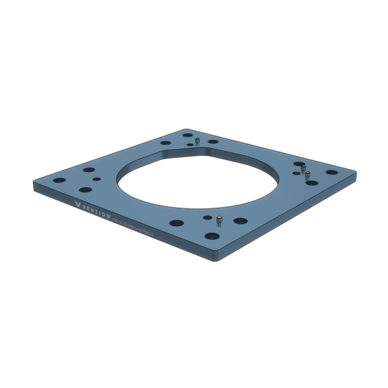 Industrial Robotic Arm Mounting Plate 270mm for FANUC 200iD