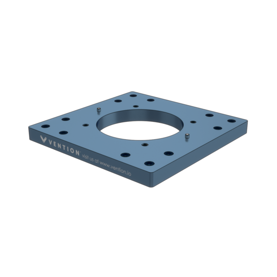 Industrial Robotic Arm Mounting Plate 270mm for Kuka LBR iiwa 7 R800