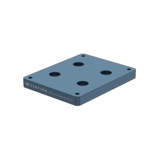Industrial Robotic Arm Mounting Plate for Mecademic Meca500