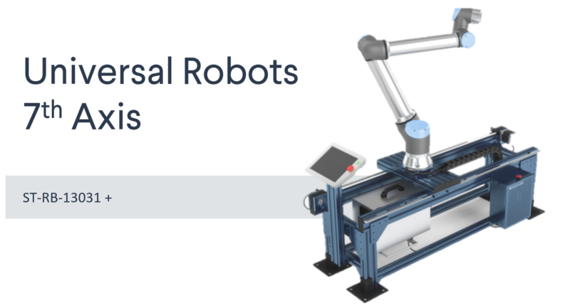 7th Axis Range Extender  for Universal Robots Datasheet main image.