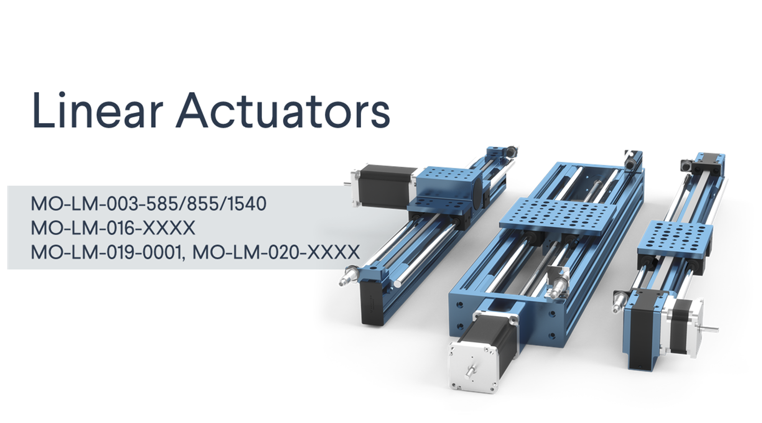 Selecting the Right Linear Axis Actuator main image.