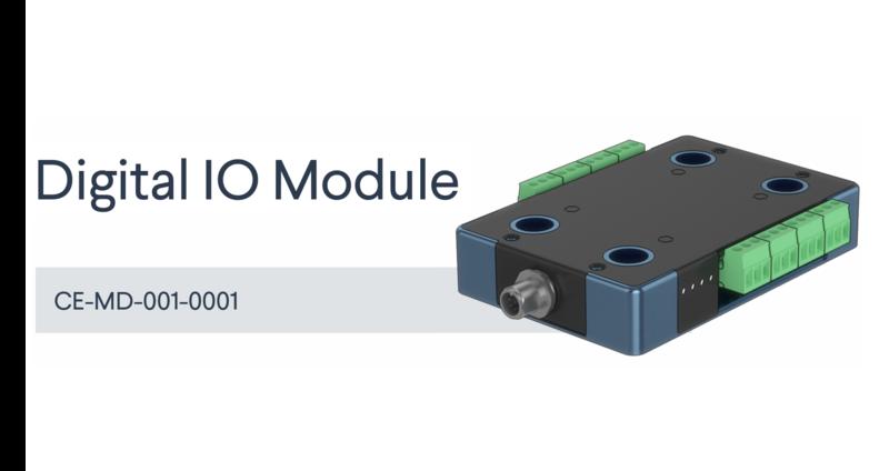 Datasheet: Digital IO Module main image.