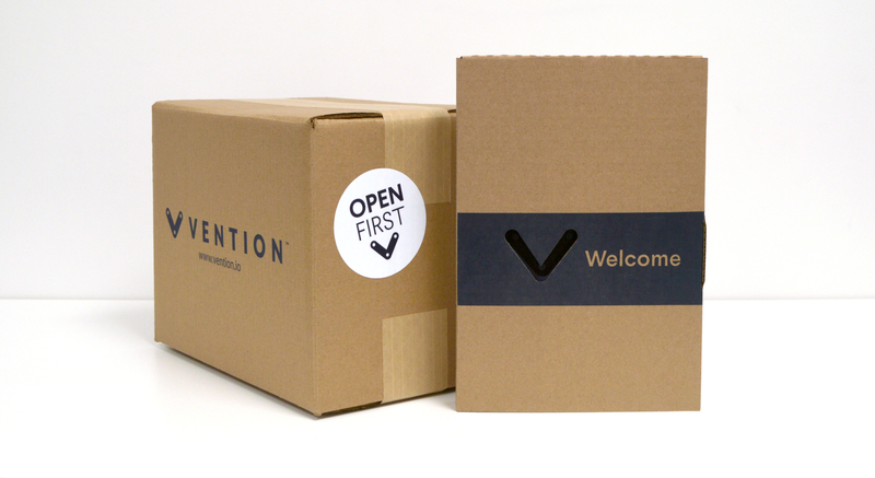 Vention Welcome Box
