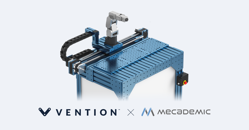 Vention partners with Mecademic