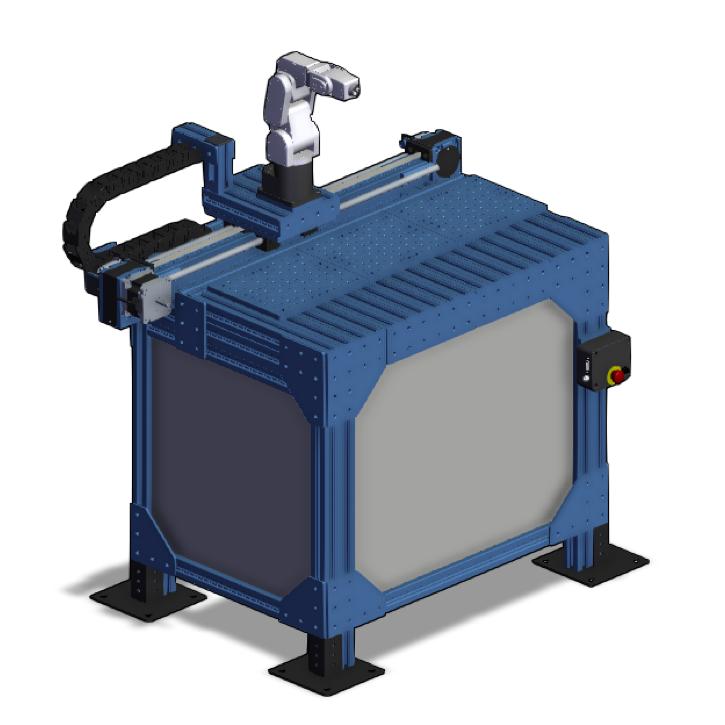 Meca500 Range Extender and Workstation