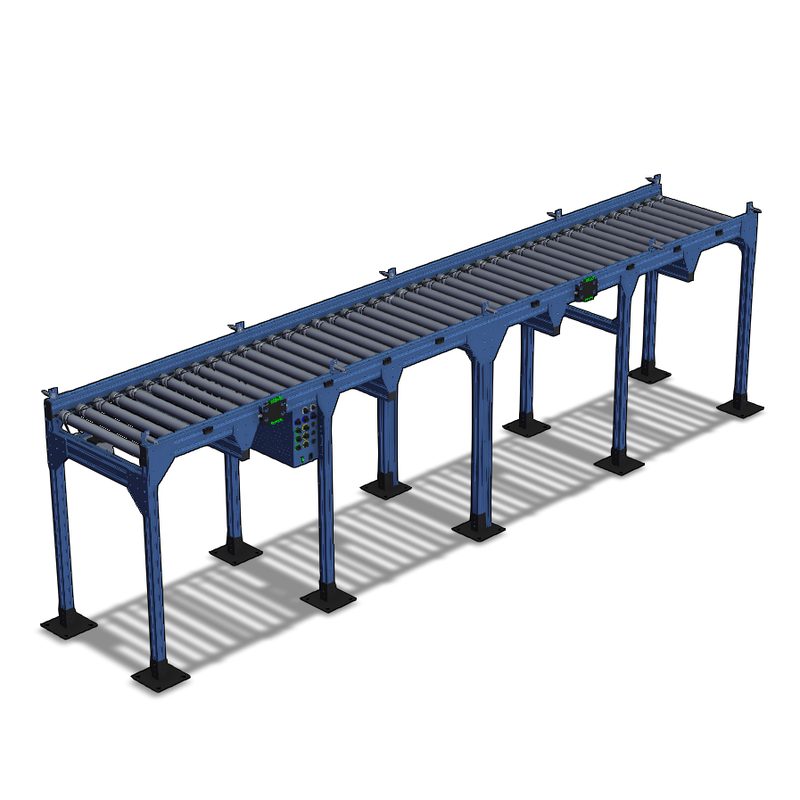 Vention conveyor packaging station