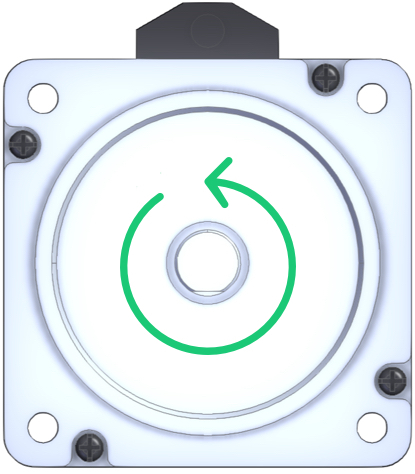 Figure 11: Reverse rotation