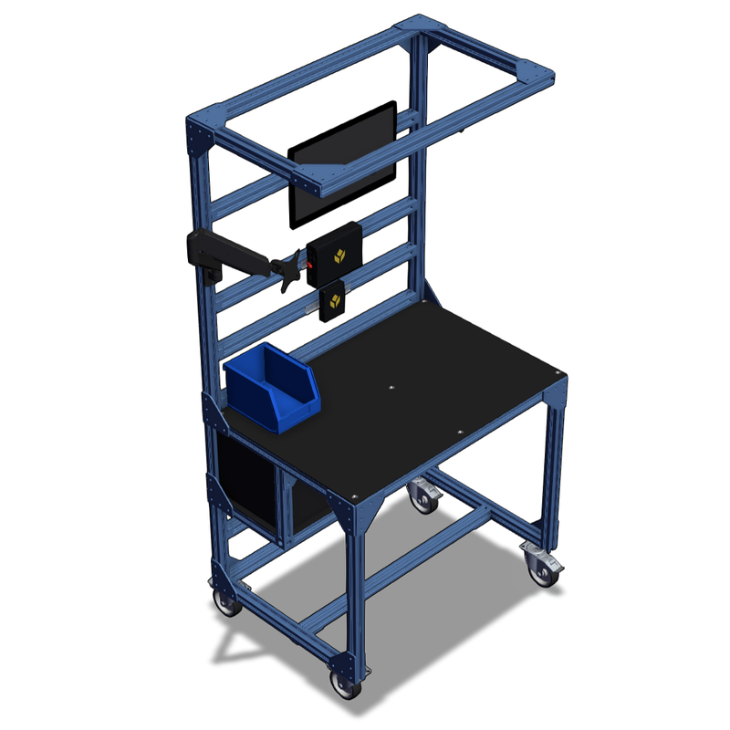 Vention assembly workstations