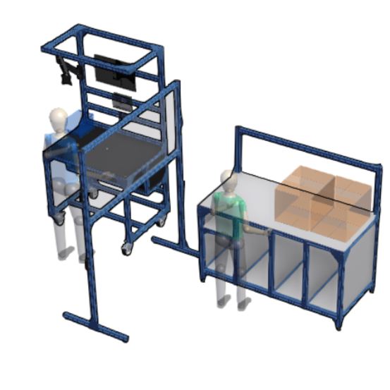 Smart Assembly + Packing Line | Social-distancing ready