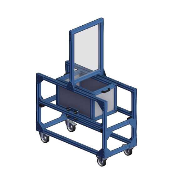 Social Distancing Transfer Cart