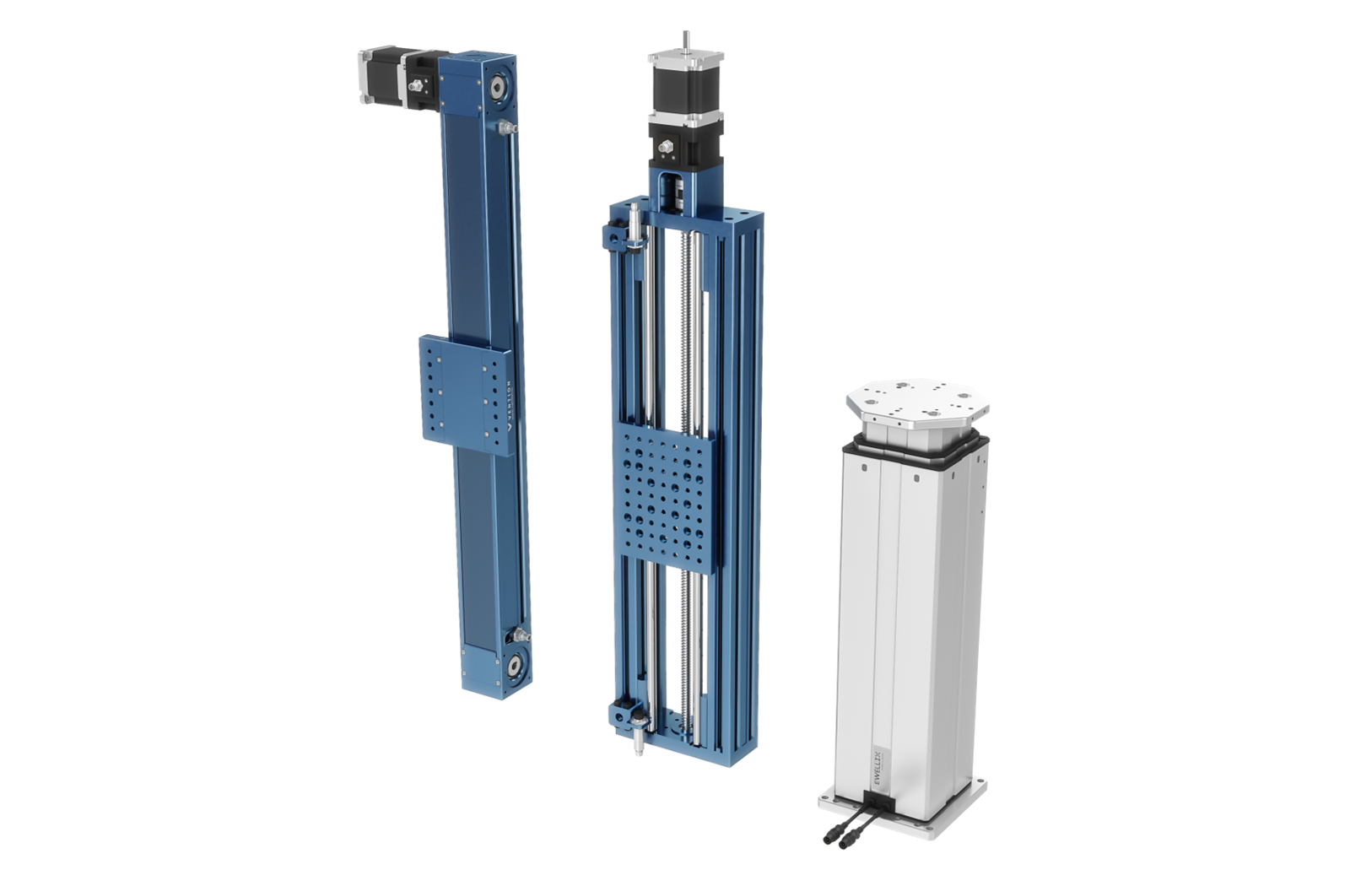 Selecting a lift column or vertical actuator