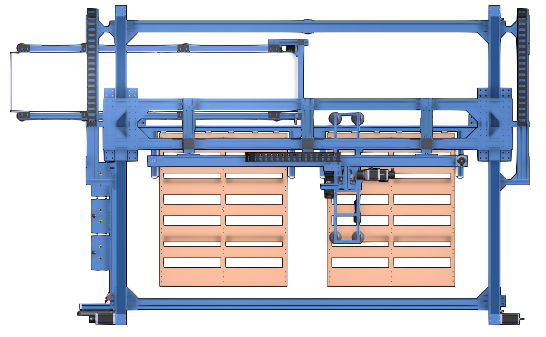 Fig.1 : Example of a double palletizer